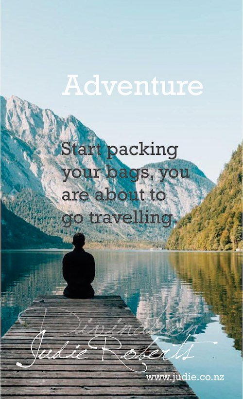 Adventure Divination Card