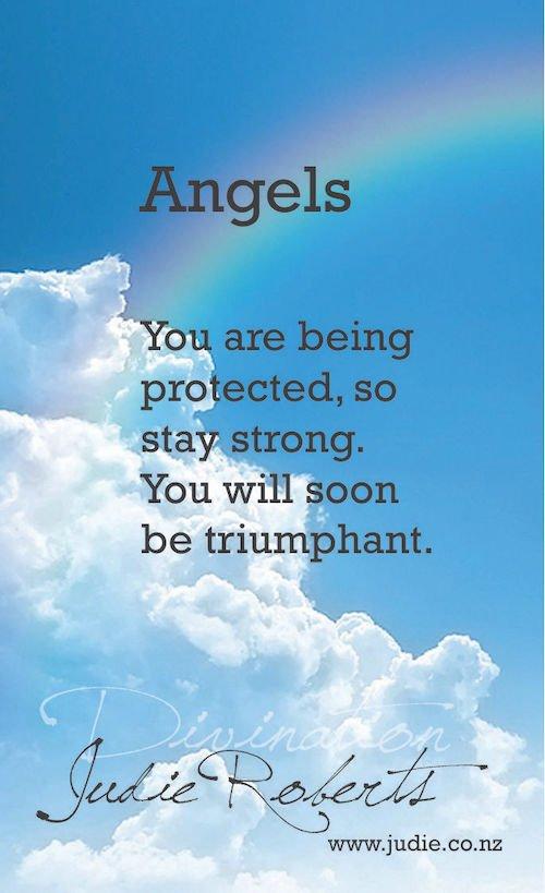 Angels Divination Card