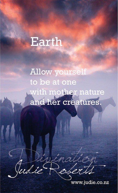 Earth Divination Card