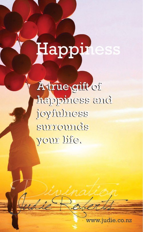 Happiness Divination Card