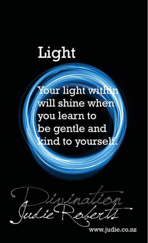 Light Divination Cards