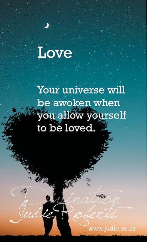 Love Divination Card