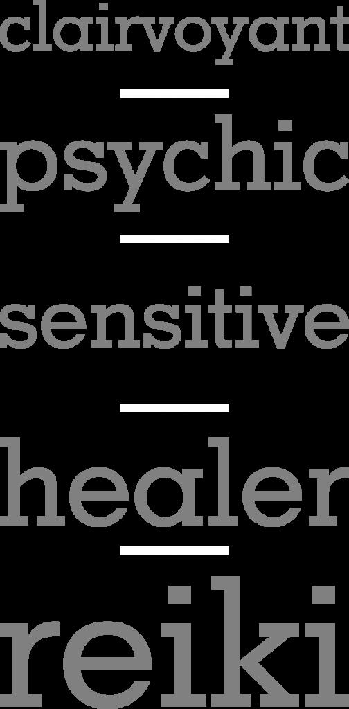 clairvoyant, psychic, sensitive, healer, reiki