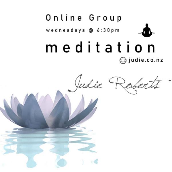 Online Meditation with Judie Roberts